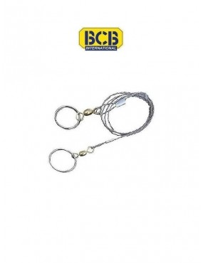 Scie commando à fil avec anneaux BCB International
