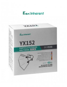 Boite de 20 masques de protection individuelle FFP2 YX152 EexiInherent