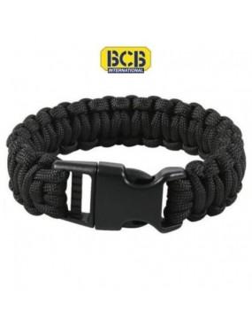 Bracelet paracorde 3m noir...